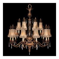 Fine Art Lamps 428040ST Pastiche 16 Light 48 inch Platinized Gold Chandelier Ceiling Light