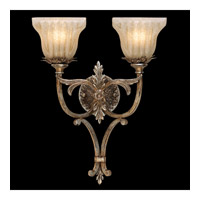 Fine Art Lamps Gourmet 2 Light Sconce in Platinized Silver 433050ST