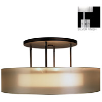 Fine Art Lamps 435940-2ST Quadralli 3 Light 48 inch Silver Pendant Ceiling Light