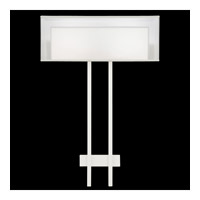 Fine Art Lamps Black and White Story 2 Light Sconce in Studio White Satin Lacquer 436450-5ST