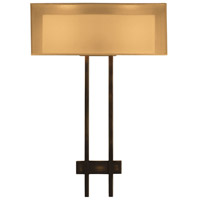 Fine Art Lamps Quadralli 2 Light Sconce in Rich Bourbon 436450ST