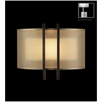 Quadralli 1 Light 14 inch Silver Leaf Coupe Wall Light