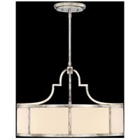 Portobello Road 3 Light 24 inch Platinized Silver Pendant Ceiling Light