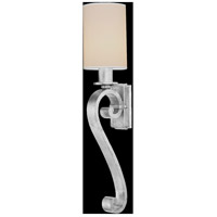 Fine Art Lamps 439150ST Portobello Road 1 Light 8 inch Platinized Silver Sconce Wall Light photo thumbnail