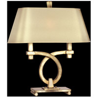 Portobello Road 27 inch 100 watt Silver Table Lamp Portable Light
