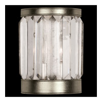 Crystal Enchantment 1 Light 6 inch Platinized Silver Coupe Wall Light