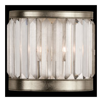 Fine Art Lamps 455450ST Crystal Enchantment 1 Light 9 inch Platinized Silver Coupe Wall Light photo thumbnail