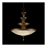 Fine Art Lamps Fontana Bella 3 Light Pendant in 18th Century Variegated Bronze 523940ST