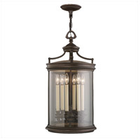 Fine Art Lamps Louvre 6 Light Outdoor Lantern in Fine Bronze 538182ST