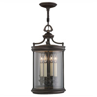 Fine Art Lamps Louvre 4 Light Outdoor Lantern in Fine Bronze 538282ST