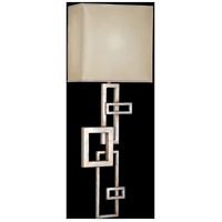 Fine Art Lamps 545150ST Portobello Road 1 Light 13 inch Silver Wall Sconce Wall Light