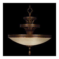 Fine Art Lamps Fontana Bella 3 Light Pendant in 18th Century Variegated Bronze 548640ST