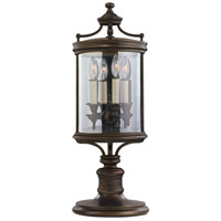 Fine Art Lamps 559483ST Louvre 4 Light 28 inch Bronze Outdoor Adjustable Pier/Post Mount