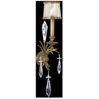 Fine Art Lamps 569050ST Monte Carlo 1 Light 10 inch Gold Sconce Wall Light