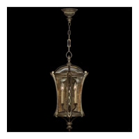 Fine Art Lamps Gramercy Park 4 Light Outdoor Lantern in Aged Antique Gold 571882ST