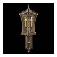 Fine Art Lamps Gramercy Park 4 Light Outdoor Wall Mount in Aged Antique Gold 572181ST