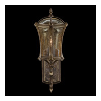Fine Art Lamps Gramercy Park 1 Light Outdoor Wall Mount in Aged Antique Gold 572281ST