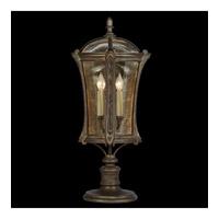 Fine Art Lamps Gramercy Park 4 Light Outdoor Adjustable Pier/Post Mount in Aged Antique Gold 574480ST photo thumbnail