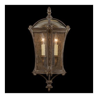 Gramercy Park 2 Light 24 inch Aged Antique Gold Outdoor Coupe