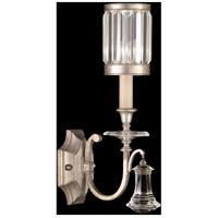 Fine Art Lamps Eaton Place 1 Light Sconce in Muted Silver Leaf 582850-2ST