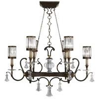 Eaton Place 6 Light 46 inch Black Chandelier Ceiling Light