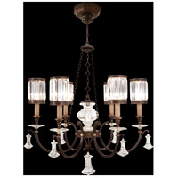 Fine Art Lamps Eaton Place 6 Light Chandelier in Rustic Iron 584240ST
