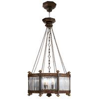 Fine Art Lamps 584440ST Eaton Place 8 Light 25 inch Black Pendant Ceiling Light