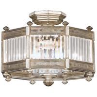 Fine Art Lamps 584640-2ST Eaton Place 3 Light 20 inch Silver Semi-Flush Mount Ceiling Light