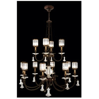 Eaton Place 12 Light 53 inch Rustic Iron Chandelier Ceiling Light