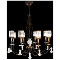 Eaton Place 8 Light 43 inch Rustic Iron Chandelier Ceiling Light