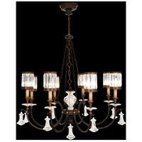 Fine Art Lamps 585240ST Eaton Place 8 Light 43 inch Rustic Iron Chandelier Ceiling Light
