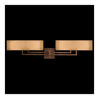 Quadralli 4 Light 35 inch Rich Bourbon Bath Bar Wall Light