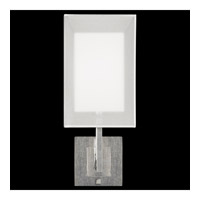 Quadralli 1 Light 7 inch Silver Leaf Bath Sconce Wall Light