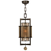 Singapore Moderne 1 Light 13 inch Brown Patinated Bronze Lantern Ceiling Light