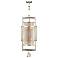 Singapore Moderne 6 Light 18 inch Muted Silver Leaf Lantern Ceiling Light