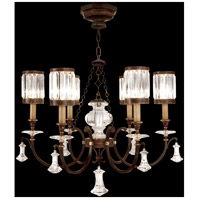 Fine Art Lamps Eaton Place 6 Light Chandelier in Rustic Iron 595440ST