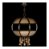 Singapore Moderne 8 Light 31 inch Brown Patinated Bronze Pendant Ceiling Light