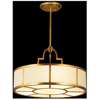 Fine Art Lamps 601740ST Portobello Road 8 Light 36 inch Gold Pendant Ceiling Light