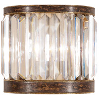 Eaton Place 1 Light 9 inch Rustic Iron Coupe Wall Light