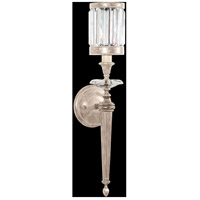 Fine Art Lamps Eaton Place 1 Light Sconce in Muted Silver Leaf 605750-2ST