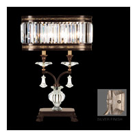 Fine Art Lamps 606010-2-20 Eaton Place 31 inch 60 watt Silver Leaf Table Lamp Portable Light