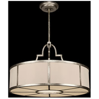 Portobello Road 8 Light 36 inch Platinized Silver Pendant Ceiling Light