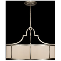 Portobello Road 8 Light 48 inch Platinized Silver Pendant Ceiling Light