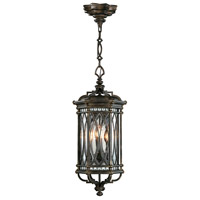 Warwickshire 4 Light 13 inch Wrought Iron Patina Outdoor Lantern