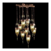 Scheherazade 9 Light 35 inch Aged Dark Bronze Pendant Ceiling Light