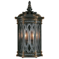 Warwickshire 2 Light 21 inch Wrought Iron Patina Outdoor Coupe