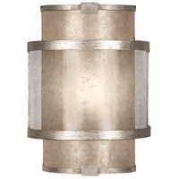 Singapore Moderne 1 Light 9 inch Muted Silver Leaf Coupe Wall Light