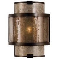 Fine Art Lamps 618050ST Singapore Moderne 1 Light 9 inch Bronze Wall Sconce Wall Light