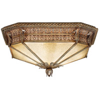 Gourmet 2 Light 16 inch Platinized Silver Flush Mount Ceiling Light