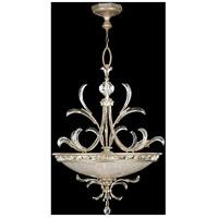 Fine Art Lamps 704440ST Beveled Arcs 3 Light 44 inch Warm Muted Silver Leaf Pendant Ceiling Light